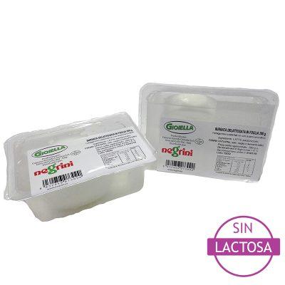 Burrata Sin Lactosa Take Away 0,200×8 Negrini