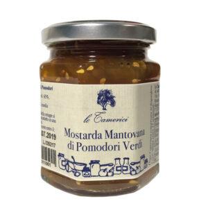 Mostarda Di Pomodori Verdi 220g X 6 Ud Tamerici