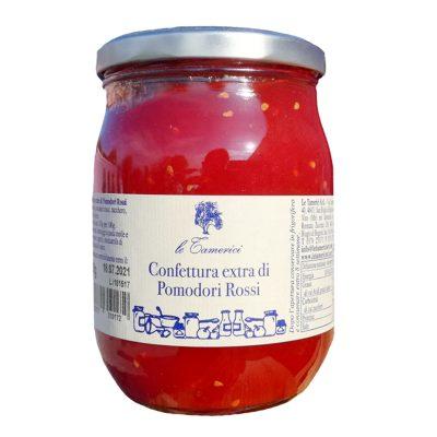 Confettura Extr.pomod.rossi 600g X 6ud Tamerici