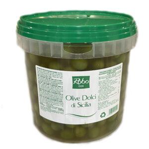 Olive Dolci Siciliane 3,5kg X 2u D'amico