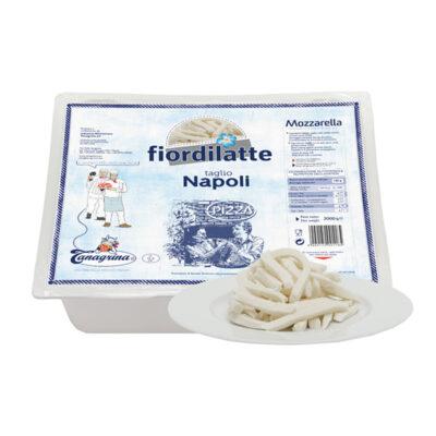 Mozzarella Fdl Taglio Napoli 2kgx4ud Tanagrina