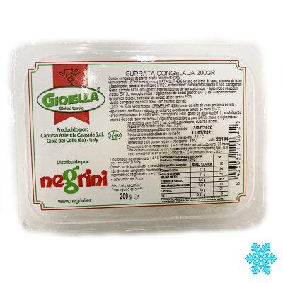 Burrata 200gr Congelada X 20uds Negrini