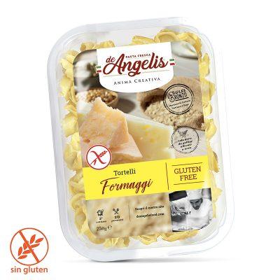 Tortelloni Formaggi Sin Gluten 250gx6u Deangelis